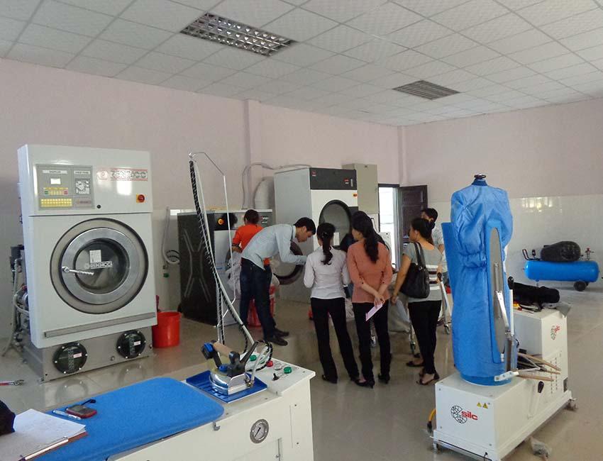 Lắp đặt hệ thống giặt là công nghiệp
