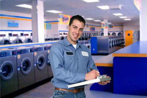 Nhà máy sản xuất thiết bị giặt là trong tương lai